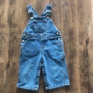 Levi's denim overalls 12 months